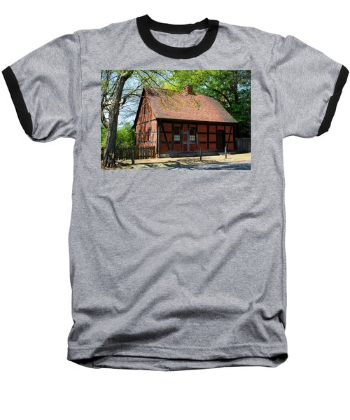 Old Salem Scene 3 Baseball T-Shirt