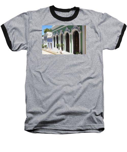 Old San Juan Street Baseball T-Shirt