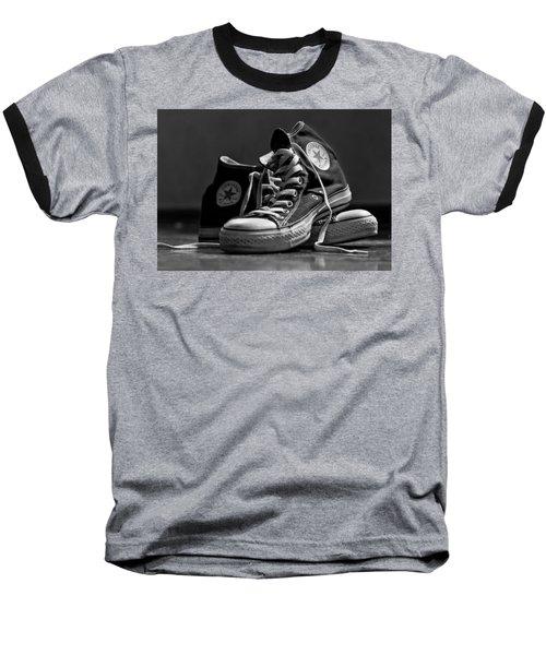 Old School Cool Baseball T-Shirt by Brian Caldwell