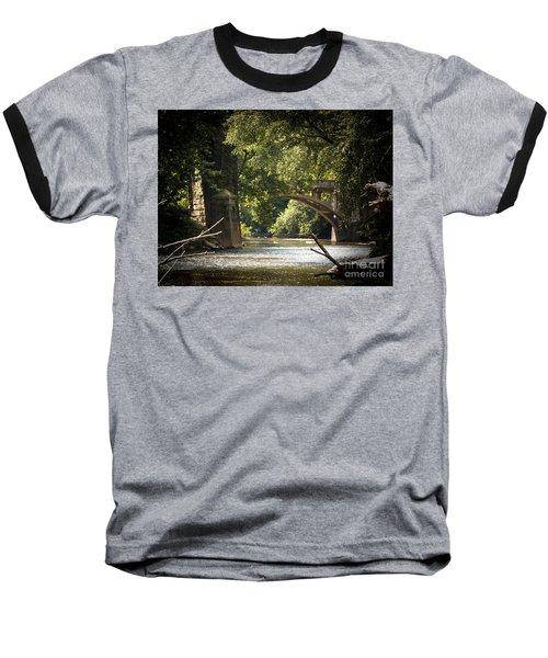 Old Stone Bridge Baseball T-Shirt