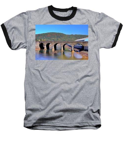 Old Stone Bridge - Johnstown Pa Baseball T-Shirt