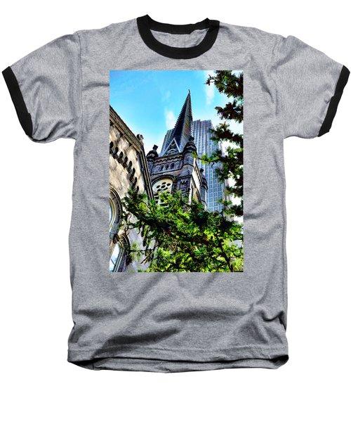 Old Stone Church - Cleveland Ohio - 1 Baseball T-Shirt