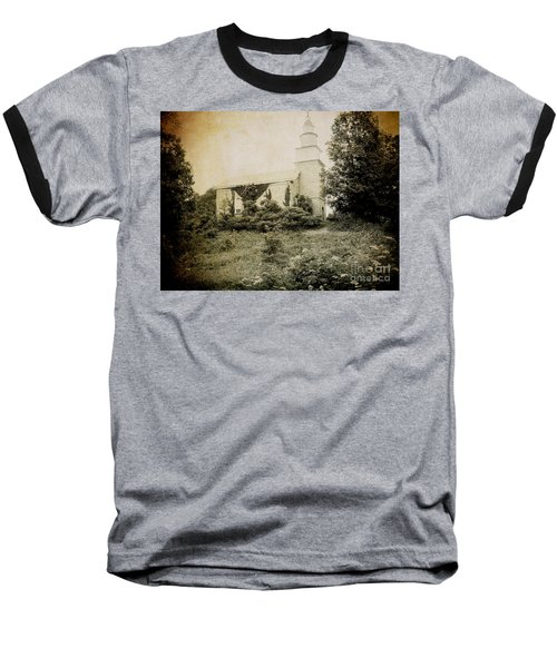 Old Stone Church In Rhinebeck Baseball T-Shirt