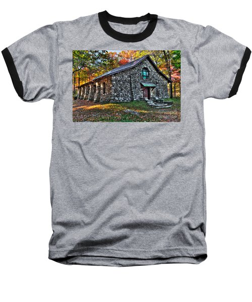 Old Stone Lodge Baseball T-Shirt