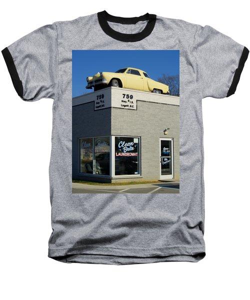 Old Studebaker Building Baseball T-Shirt