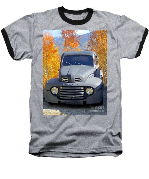 Baseball T-Shirt featuring the photograph Old Time Fun by Fiona Kennard