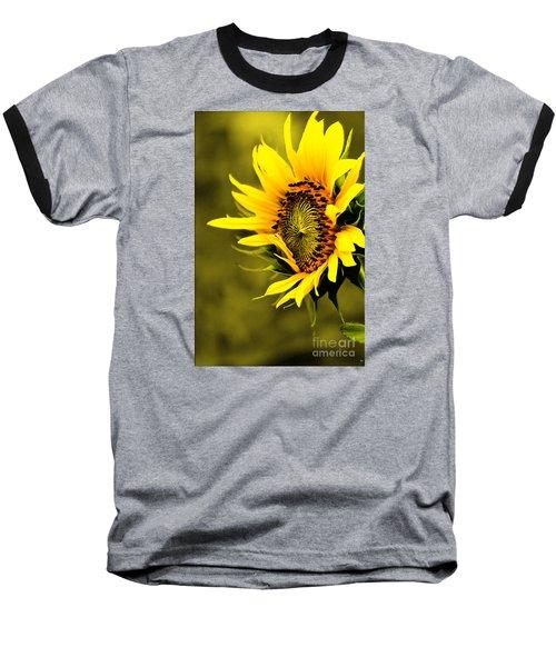 Old Time Sunflower Baseball T-Shirt