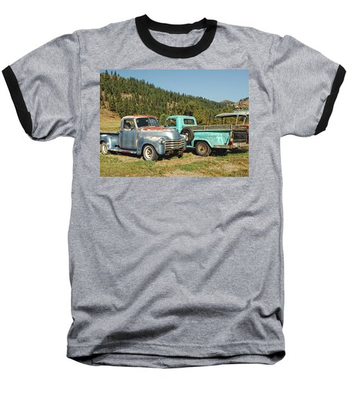 Old Timers Baseball T-Shirt by Donna Blackhall
