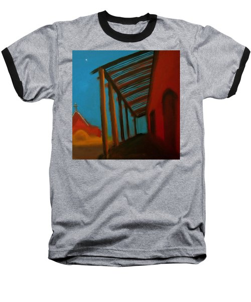 Baseball T-Shirt featuring the painting Old Town by Keith Thue