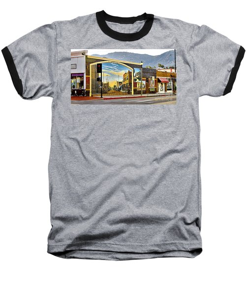 Old Town Mural Baseball T-Shirt