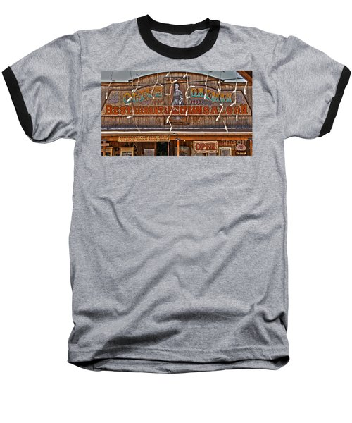 Old Town Saloon Baseball T-Shirt