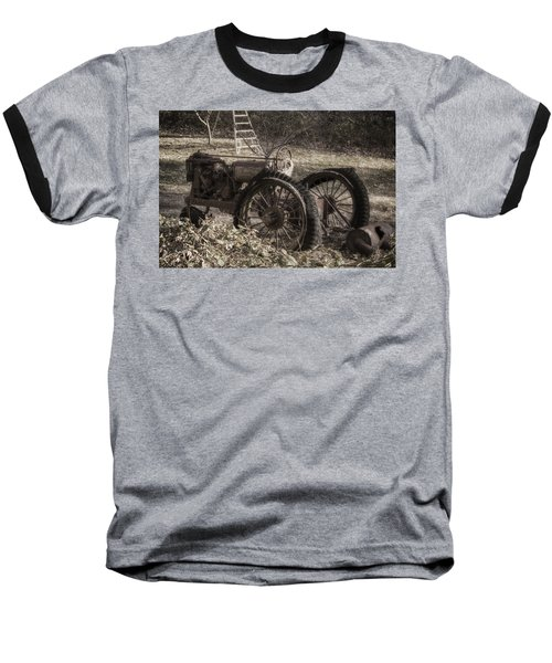 Old Tractor Baseball T-Shirt