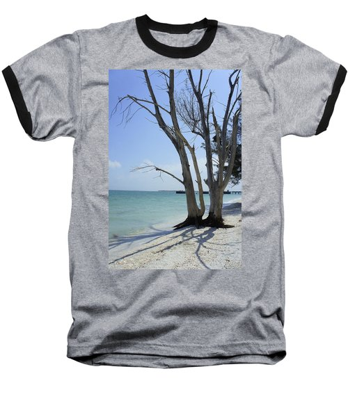 Baseball T-Shirt featuring the photograph Old Tree by Laurie Perry