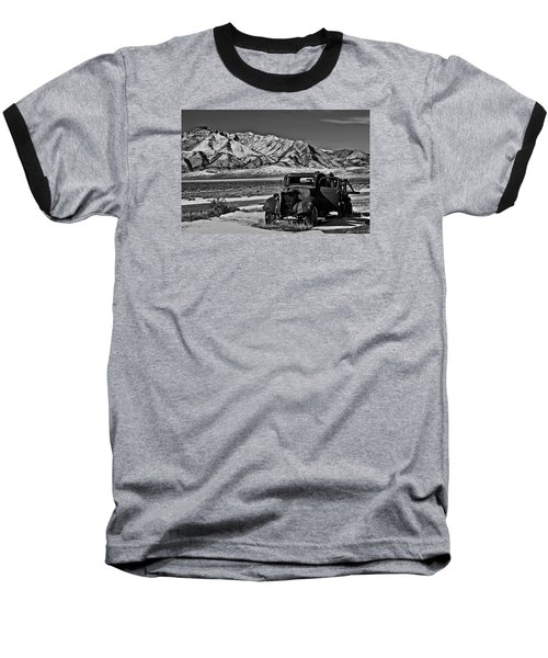 Old Truck Baseball T-Shirt by Robert Bales