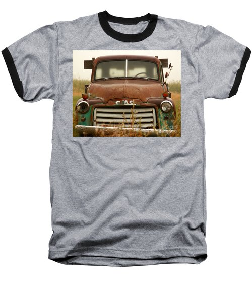 Old Truck Baseball T-Shirt by Steven Reed