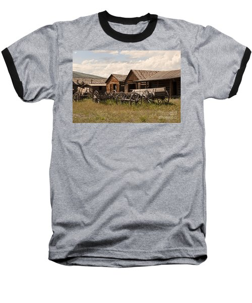Old West Wyoming  Baseball T-Shirt
