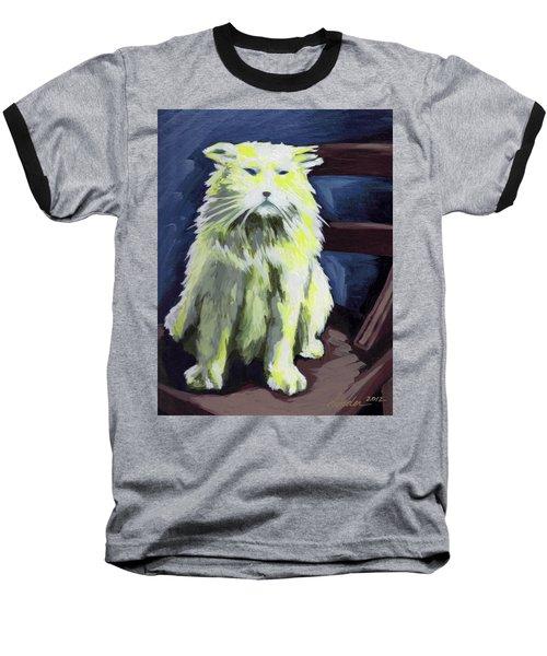 Old World Cat Baseball T-Shirt