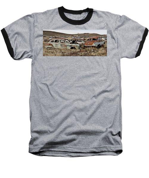 Old Wrecks Baseball T-Shirt