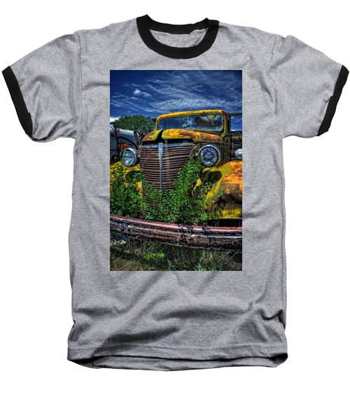 Baseball T-Shirt featuring the photograph Old Yeller by Ken Smith