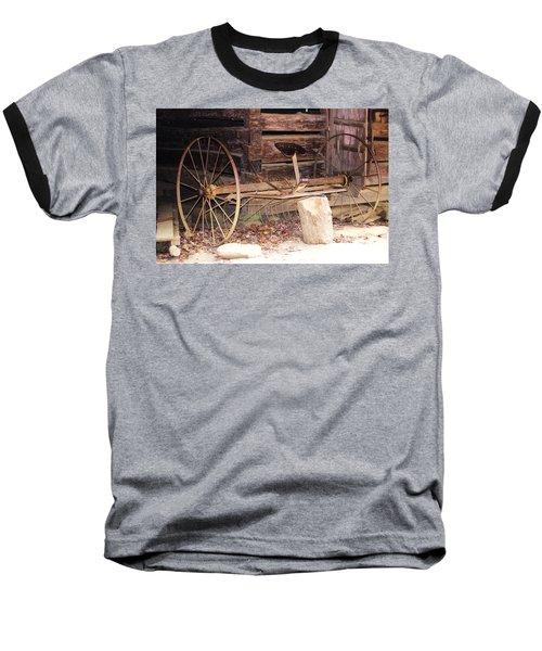 Baseball T-Shirt featuring the photograph Ole Wheely by Faith Williams