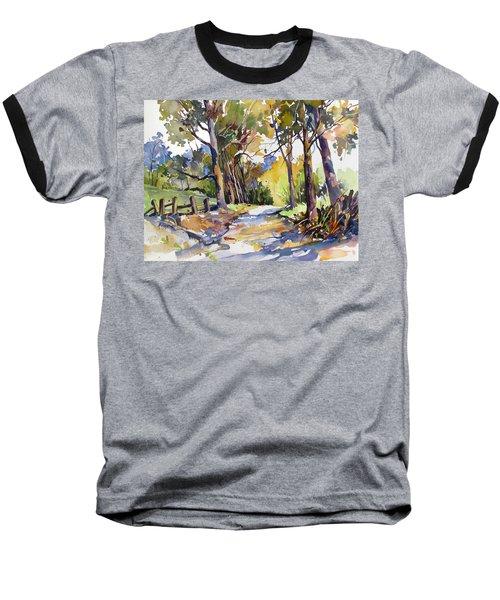 Olinda Trees Maui Baseball T-Shirt