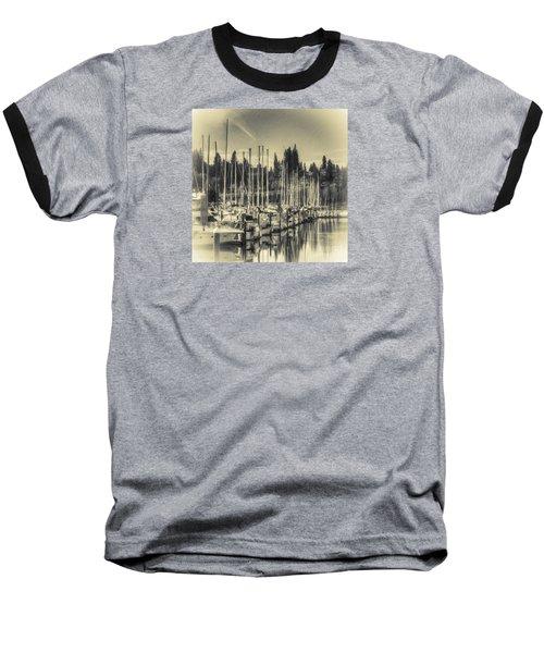 Olympia Marina 1 Baseball T-Shirt