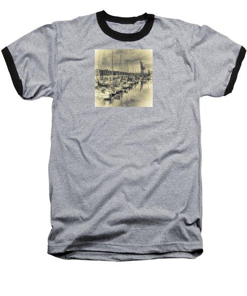 Baseball T-Shirt featuring the photograph Olympia Marina 3 by Jean OKeeffe Macro Abundance Art