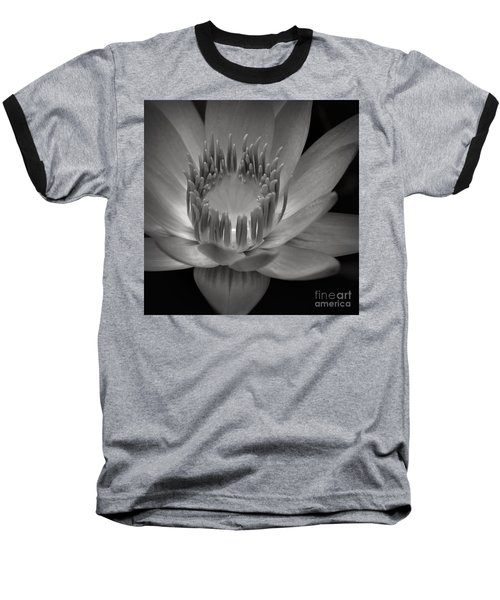 Om Mani Padme Hum Hail To The Jewel In The Lotus Baseball T-Shirt by Sharon Mau