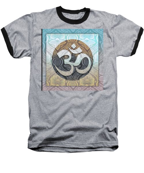 OM Baseball T-Shirt by Richard Laeton