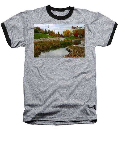 Baseball T-Shirt featuring the photograph Omaha In Color by Elizabeth Winter