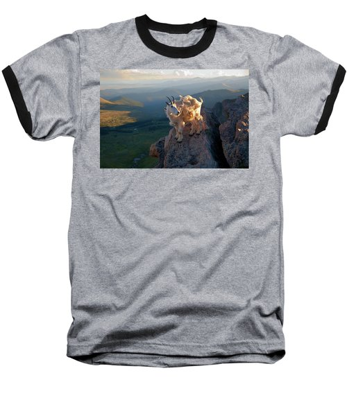 Baseball T-Shirt featuring the photograph On A Clear Day by Jim Garrison