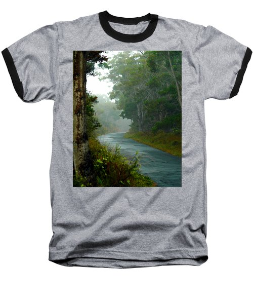 On A Country Road Baseball T-Shirt