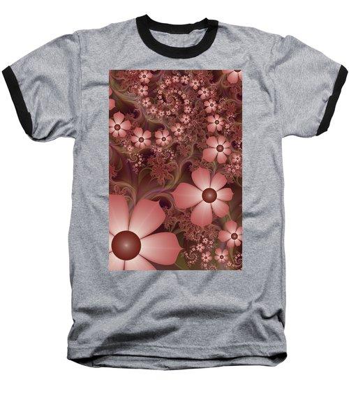 Baseball T-Shirt featuring the digital art On A Summer Evening by Gabiw Art