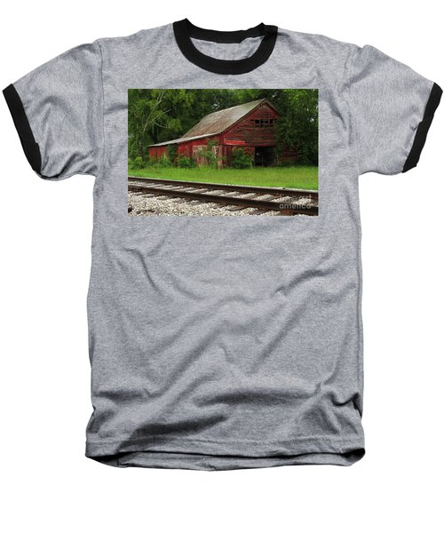 On A Tennessee Back Road Baseball T-Shirt by Douglas Stucky