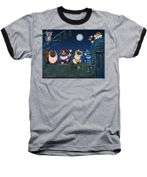 On An Adobe Wall Baseball T-Shirt