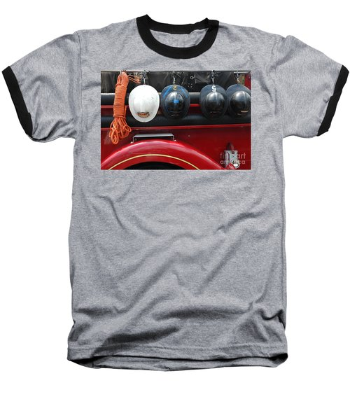 On Duty Baseball T-Shirt by Christiane Hellner-OBrien