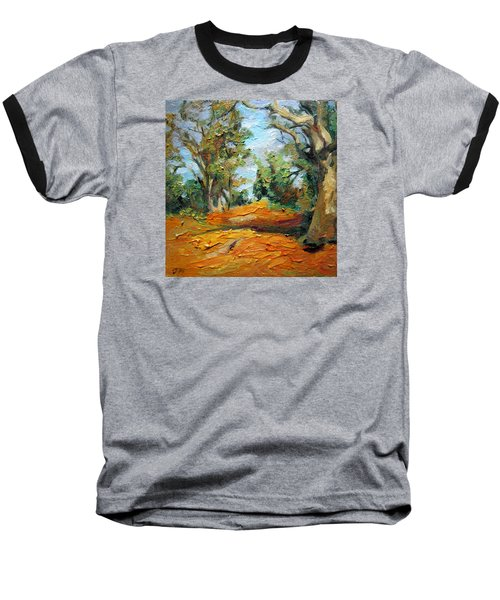 On The Forest Baseball T-Shirt by Jieming Wang