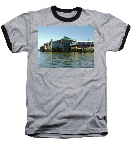 On The Gulf Baseball T-Shirt