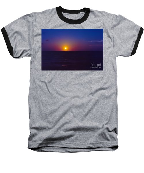 On The Horizon Baseball T-Shirt by Anita Lewis
