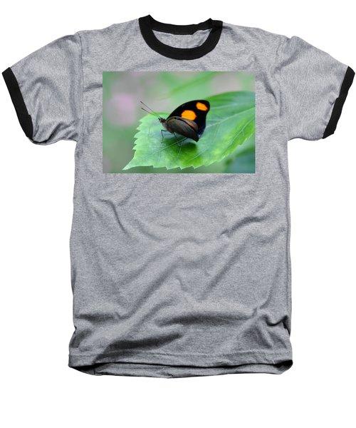 On The Leaf Baseball T-Shirt