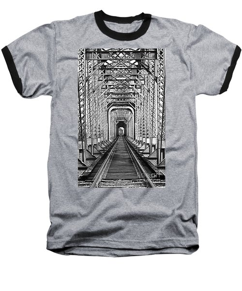 On The Right Track Baseball T-Shirt