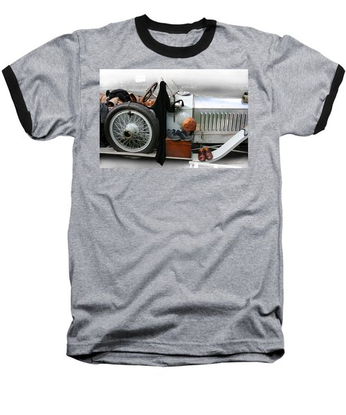 Baseball T-Shirt featuring the photograph On The Road by Leena Pekkalainen