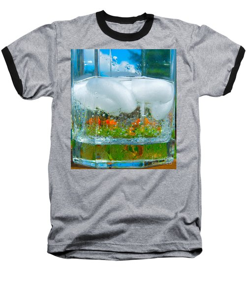 On The Rocks Baseball T-Shirt by Pamela Clements