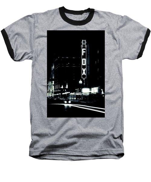 On The Town Baseball T-Shirt by Scott Rackers