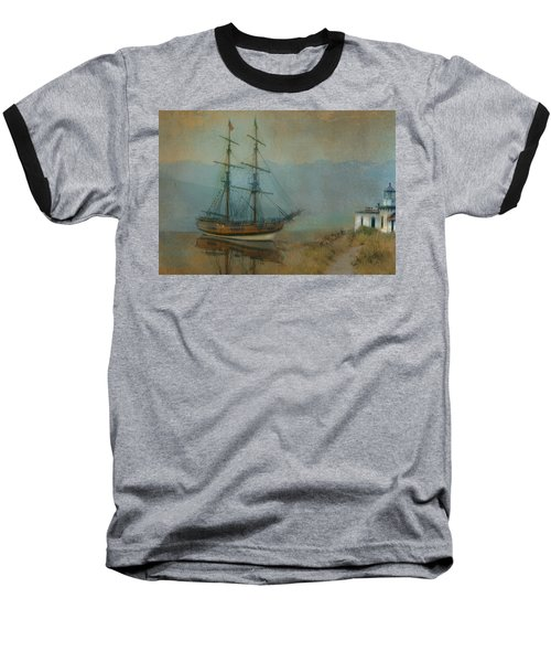 On The Water Baseball T-Shirt by Jeff Burgess