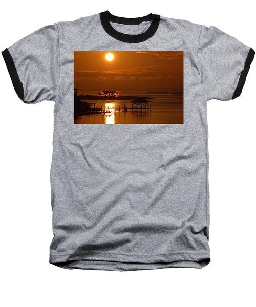 On Top Of Tacky Jacks Sunrise Baseball T-Shirt by Michael Thomas