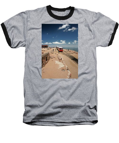 On Top Of The World Baseball T-Shirt