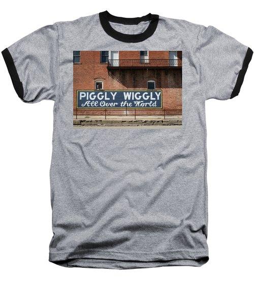 One Famous Pig Baseball T-Shirt