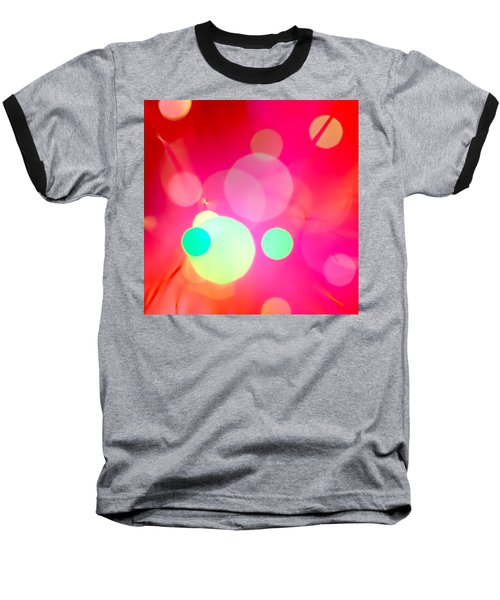 Baseball T-Shirt featuring the photograph One Hot Minute by Dazzle Zazz