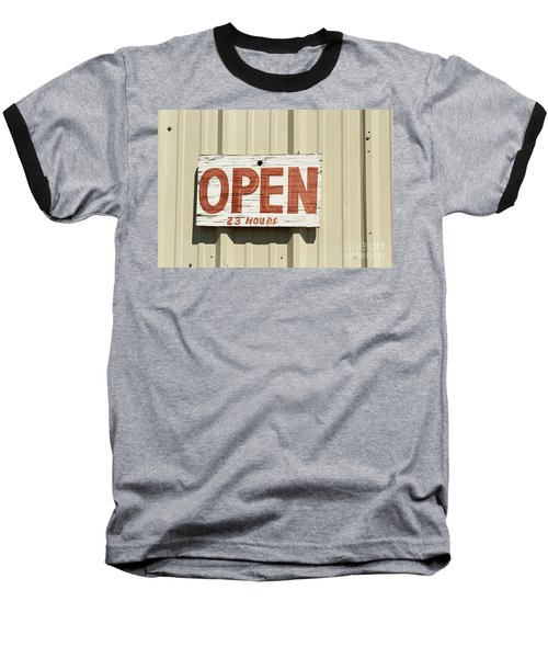 One Hour Lunch Baseball T-Shirt